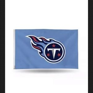 NWT Tennessee Titans Flag 5 foot x 3 foot
